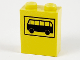Part No: 3245bpx4  Name: Brick 1 x 2 x 2 with Inside Axle Holder with Black Bus Pattern
