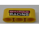 Part No: 32523pb15  Name: Technic, Liftarm 1 x 3 Thick with 'ROU-ROUE RACING' Pattern (Sticker) - Set 42095