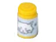 Part No: 33011cpb02  Name: Scala Accessories Jar Jam / Jelly, Light Violet Label with White Cat Face Pattern (Sticker) - Set 5944