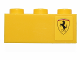 Part No: 3622pb055R  Name: Brick 1 x 3 with Ferrari Logo Pattern Right Side Model (Sticker) - Set 30194