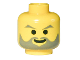 Part No: 3626bp39  Name: Minifigure, Head Beard with Gray Facial Hair Pattern - Blocked Open Stud