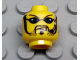 Part No: 3626bpb0114  Name: Minifigure, Head Glasses with Black Sunglasses, Goatee and Headset Pattern - Blocked Open Stud