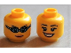 Part No: 3626bpb0688  Name: Minifigure, Head Dual Sided Female Open Smile / Swimming Goggles Pattern - Blocked Open Stud