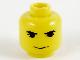 Part No: 3626bpx91  Name: Minifigure, Head Male HP Hagrid Pattern - Blocked Open Stud