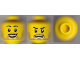 Part No: 3626cpb0593  Name: Minifigure, Head Dual Sided Beard Stubble, Smile / Open Smile Pattern - Hollow Stud