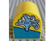 Part No: 3664pb01  Name: Duplo, Brick 2 x 2 x 2 Curved Top with Water Spout Pattern