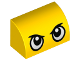 Part No: 37352pb001  Name: Slope, Curved 1 x 2 x 1 with Large Stern Eyes Pattern (Duckmobile)