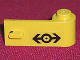 Part No: 3821pb012  Name: Door 1 x 3 x 1 Right with Train Logo Black Pattern (Sticker) - Set 4546