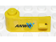 Part No: 3822pb016  Name: Door 1 x 3 x 1 Left with 'ANWB' and Blue Logo Pattern (Sticker) - Set 2140