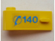 Part No: 3822pb024  Name: Door 1 x 3 x 1 Left with Blue Telephone Receiver and '140' Pattern (Sticker) - Set 1589-2