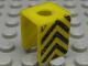 Part No: 3840pb18  Name: Minifigure, Vest with Black Chevron Pattern