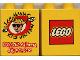 Part No: 4066pb008  Name: Duplo, Brick 1 x 2 x 2 with Lego Maniac Kid Vention 2000 Pattern