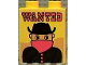 Part No: 4066pb011  Name: Duplo, Brick 1 x 2 x 2 with Wanted Poster Pattern