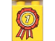 Part No: 4066pb053  Name: Duplo, Brick 1 x 2 x 2 with First Place Ribbon Pattern