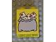Part No: 4066pb063  Name: Duplo, Brick 1 x 2 x 2 with Mail Bag Large Pattern