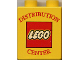 Part No: 4066pb123  Name: Duplo, Brick 1 x 2 x 2 with Distribution Center and Lego Logo Pattern