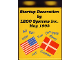 Part No: 4066pb141  Name: Duplo, Brick 1 x 2 x 2 with Startup Decoration Lego Systems Inc. May 1993 Pattern