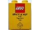 Part No: 4066pb213  Name: Duplo, Brick 1 x 2 x 2 with Space & AQP 1997 Team Work Expo Pattern