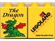 Part No: 4066pb246  Name: Duplo, Brick 1 x 2 x 2 with The Dragon Pattern