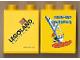 Part No: 4066pb270  Name: Duplo, Brick 1 x 2 x 2 with Miniland California Pattern (Stickered)