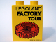Part No: 4066pb314  Name: Duplo, Brick 1 x 2 x 2 with Legoland Factory Tour with Red Gear Pattern