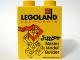 Part No: 4066pb315  Name: Duplo, Brick 1 x 2 x 2 with Junior Master Model Builder 2008 Pattern
