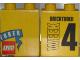 Part No: 4066pb353  Name: Duplo, Brick 1 x 2 x 2 with Toys 'R' Us Bricktober Week 4 Pattern
