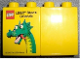 Part No: 4066pb386  Name: Duplo, Brick 1 x 2 x 2 with The LEGO Store Orlando 2010 - Brickley Pattern