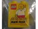 Part No: 4066pb401  Name: Duplo, Brick 1 x 2 x 2 with LEGO KidsFest 2011 Pattern