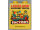 Part No: 4066pb436  Name: Duplo, Brick 1 x 2 x 2 with Legoland Discovery Center Factory 2013 Pattern
