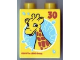 Part No: 4066pb438  Name: Duplo, Brick 1 x 2 x 2 with Giraffe 30 Visit Legoland Windsor Pattern