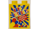 Part No: 4066pb472  Name: Duplo, Brick 1 x 2 x 2 with Happy Birthday! Legoland Deutschland Resort Yellow Pattern