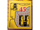 Part No: 4066pb473  Name: Duplo, Brick 1 x 2 x 2 with Elephant and 45 Visit Legoland Windsor Pattern