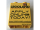 Part No: 4066pb554  Name: Duplo, Brick 1 x 2 x 2 with Apply Online Today! Legoland California Pattern