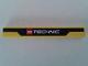 Part No: 4162pb157  Name: Tile 1 x 8 with LEGO TECHNIC Logo on Black Stripe Pattern (Sticker) - Set 8053