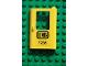 Part No: 4182pb005  Name: Door 1 x 4 x 5 Train Right with Black 'DB 7735' Pattern (Sticker) - Set 7735