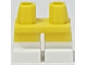 Part No: 41879pb017  Name: Legs Short with White Feet and Half Leg Pattern
