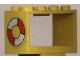 Part No: 4209pb02  Name: String Reel 2 x 4 x 2 Holder with Life Preserver Pattern on Both Sides (Stickers) - Set 6697