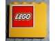 Part No: 4215pb038L  Name: Panel 1 x 4 x 3 with Lego Logo Pattern Upper Left (Sticker) - Set 4030