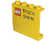 Part No: 4215pb069  Name: Panel 1 x 4 x 3 with LEGO Logo and 'TRUCK SHOW' Pattern (Sticker) - Set 2148