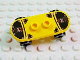 Part No: 42511c01pb22  Name: Minifigure, Utensil Skateboard with Trolley Wheel Holders with Island Xtreme Stunts Logo and Skid Plates with Rivets Pattern (Sticker) and Black Trolley Wheels (42511pb22 / 2496)