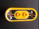Part No: 42511pb03  Name: Minifigure, Utensil Skateboard with Trolley Wheel Holders with Island Xtreme Stunts Logo Pattern (Sticker) - Set 6740