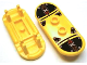 Part No: 42511pb22  Name: Minifigure, Utensil Skateboard with Trolley Wheel Holders with Island Xtreme Stunts Logo and Skid Plates with Rivets Pattern (Sticker) - Set 6738