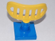 Part No: 4376c02  Name: Duplo Radar Array on 2 x 2 Blue Base