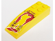 Part No: 44126pb010  Name: Slope, Curved 6 x 2 with 'Boost Volatile' / 'R Scanner' Pattern (Sticker) - Set 8113