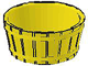 Part No: 4424  Name: Container, Barrel Half Large