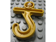 Part No: 4663  Name: Duplo Hook Short with Cross Bar
