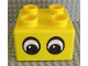 Part No: 48138pb01  Name: Quatro Brick 2 x 2 with Two Eyes Pattern