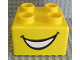 Part No: 48138pb02  Name: Quatro Brick 2 x 2 with Smile Pattern