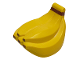 Part No: 53897px1  Name: Duplo Food Bananas with Reddish Brown Clasp and Tips Pattern